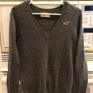 Hollister XS Women's Gray Sweater